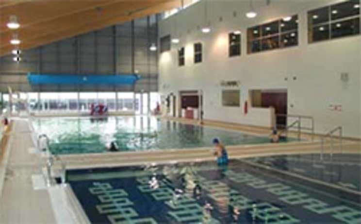 Leisure Pool at Carrick-on-Shannon Leisure Centre