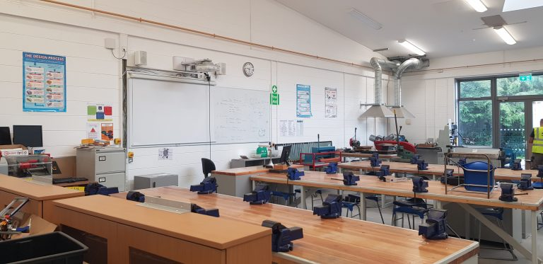 Tullamore College Woodwork Construction