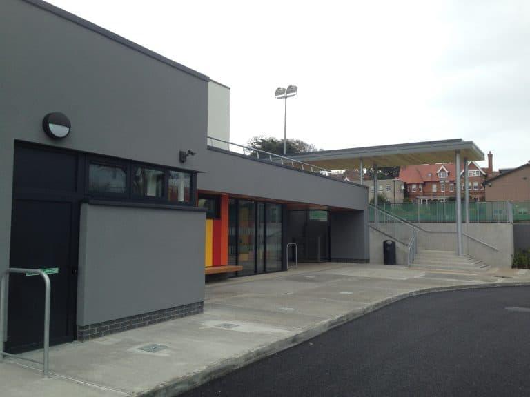 HCS Sports Hall; External