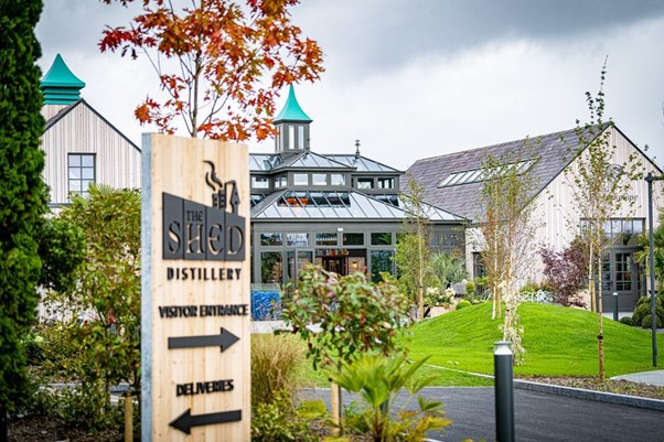 The Shed Distillery of PJ Rigney